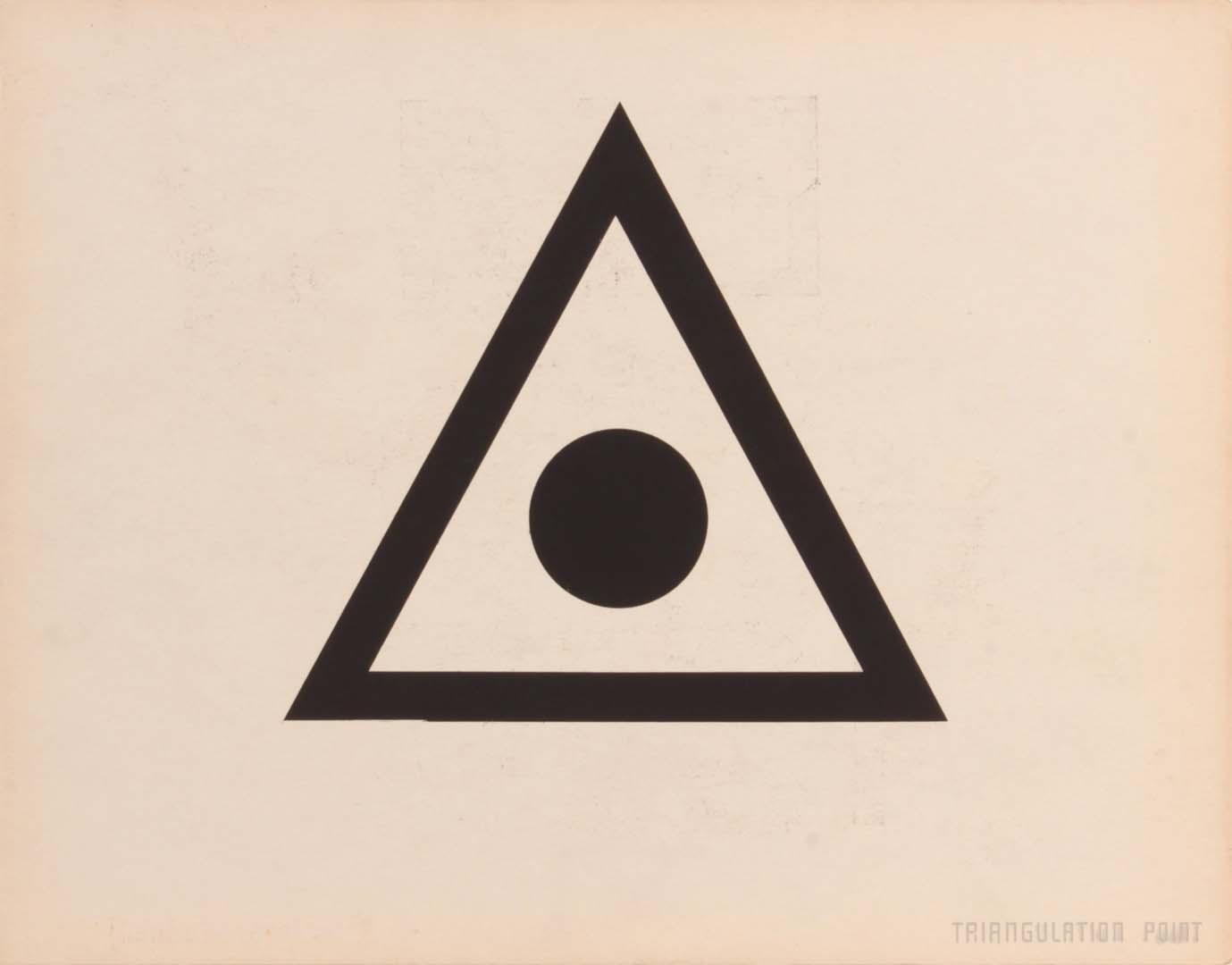 1944 Triangular Point (Back) Silkscreen 11 x 14