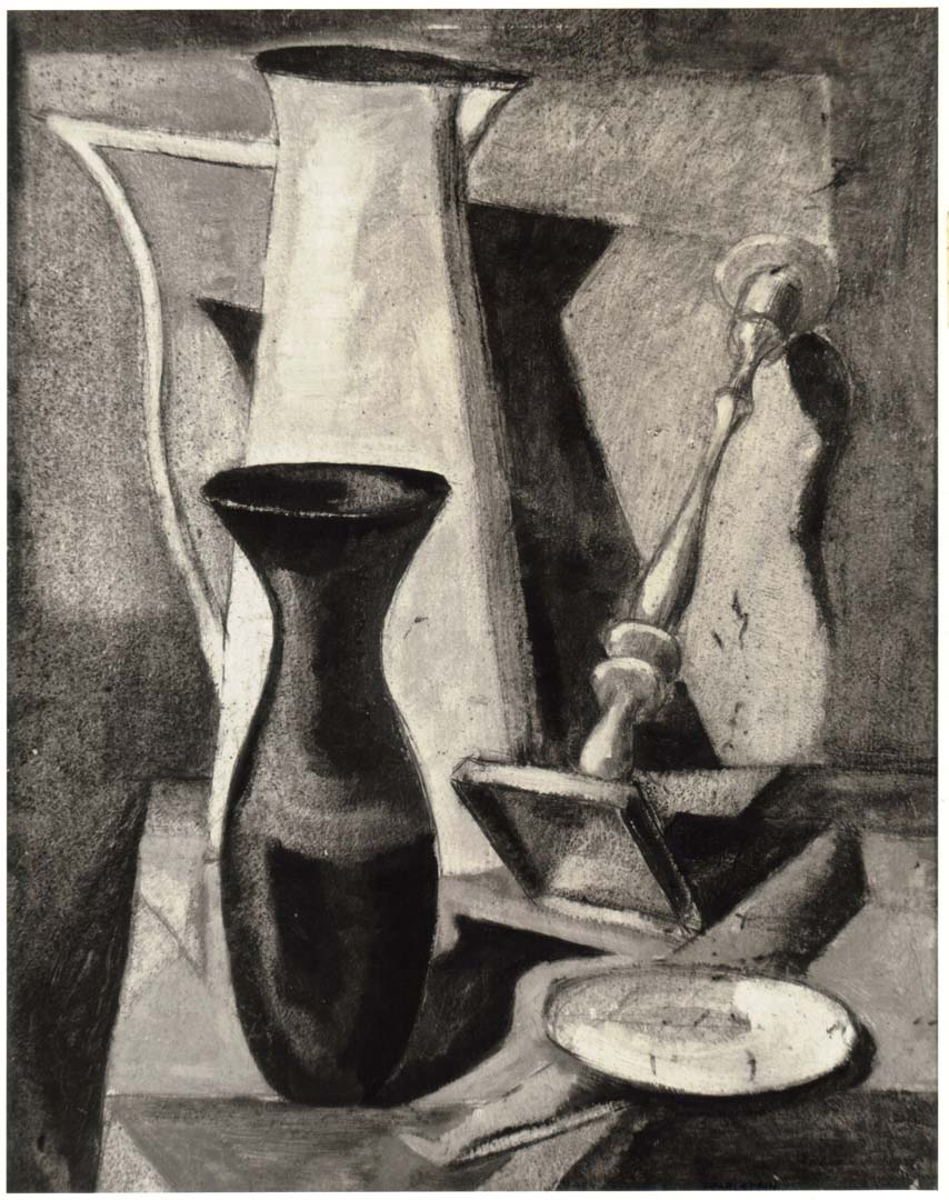 "1947 Still Life Oil on board 19.875"" x 16.75"""