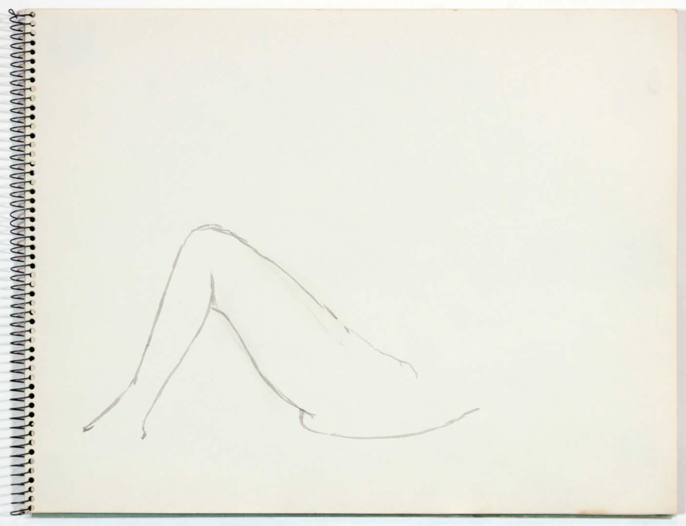 1961 NT (SB #22) Wash on Paper 11 x 14