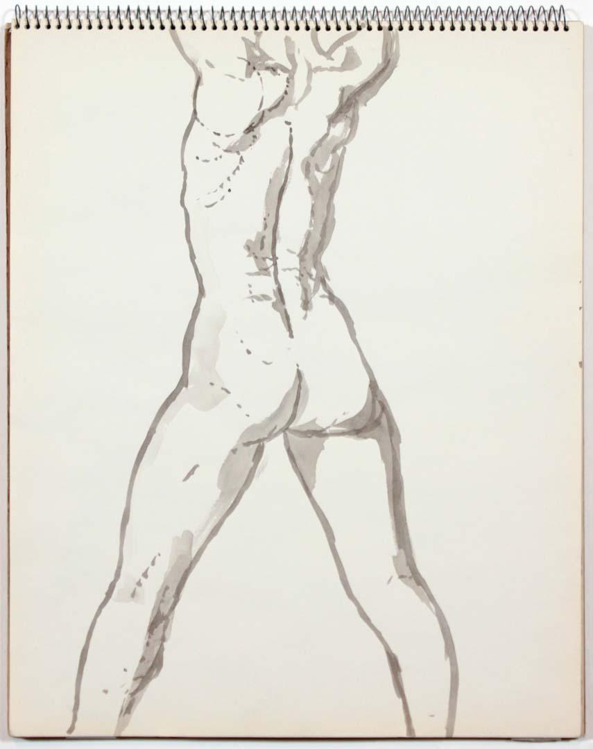 1961 Untitled Wash 14 x 11