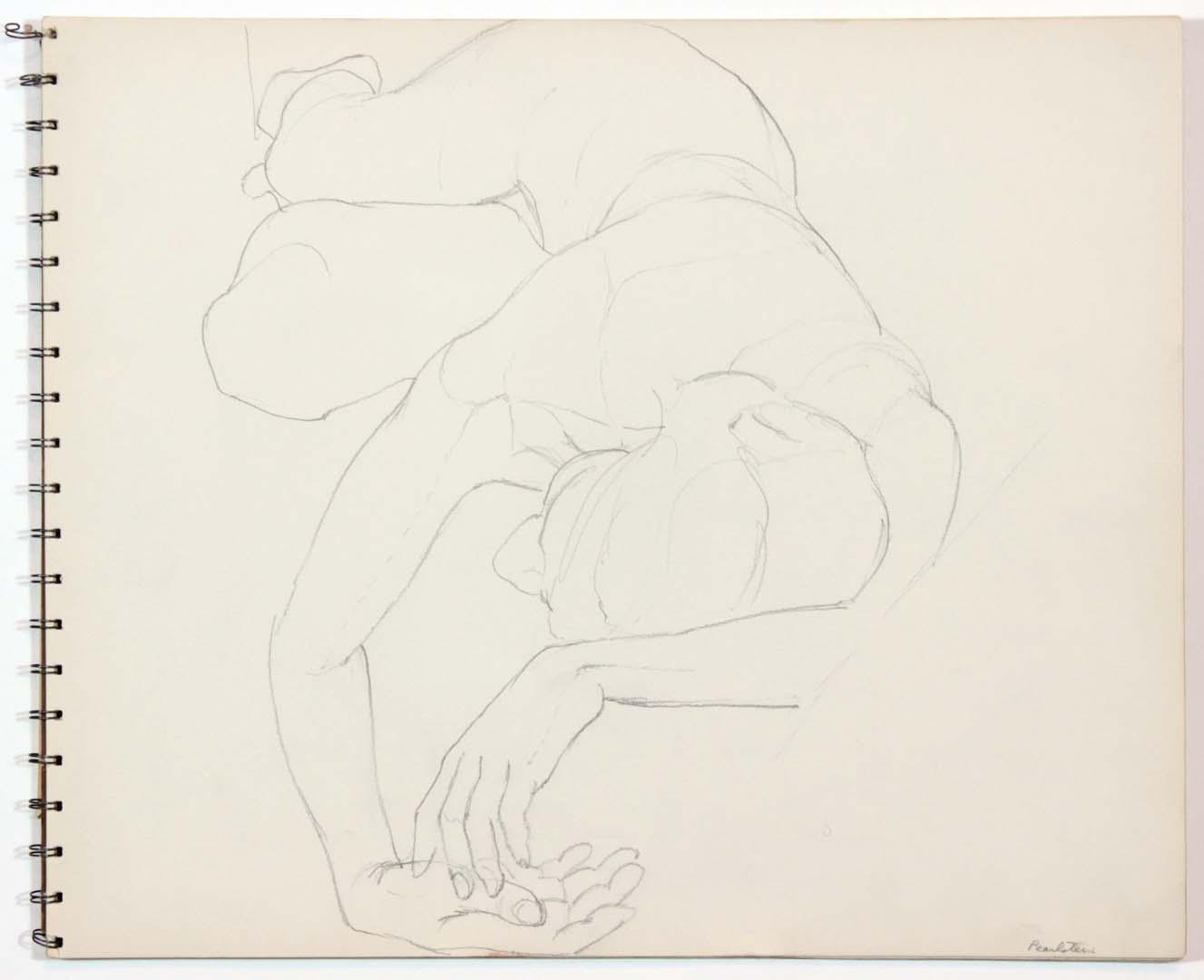 "1962 Untitled Graphite 13.875"" x 16.75"""