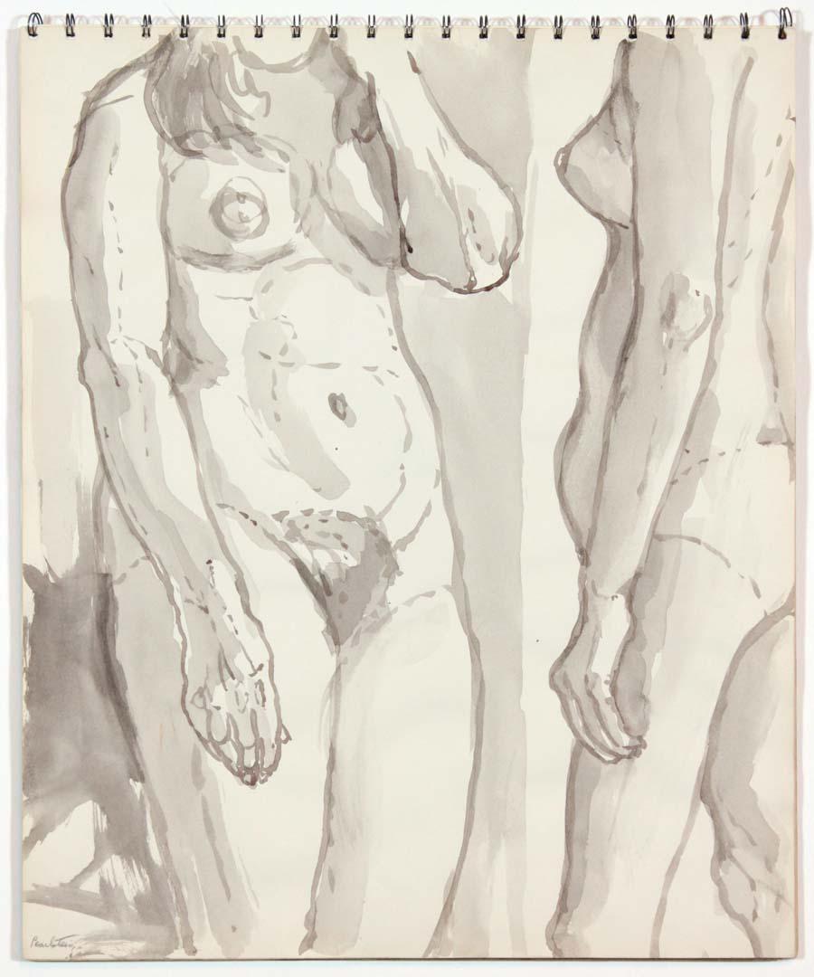 1962 Untitled Wash 16.75 x 13.875