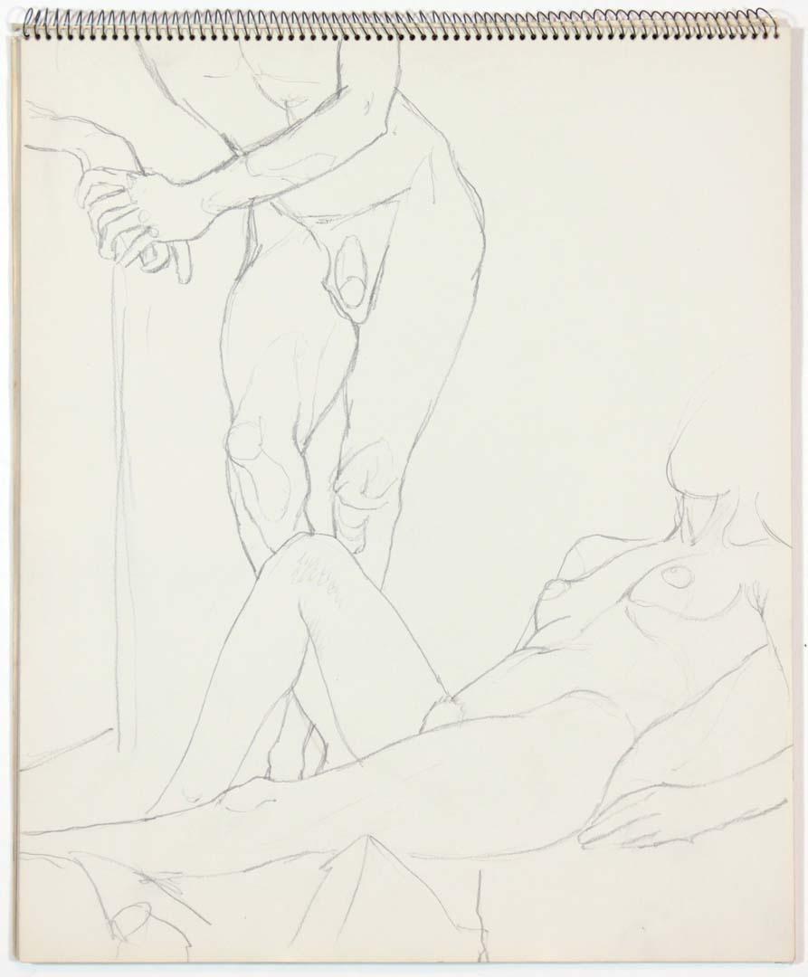 1963 Untitled Graphite 17 x 14
