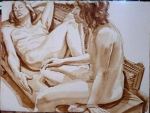 1973 Study for Oil Painting