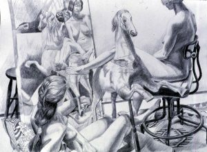 1989 Study for Nudes