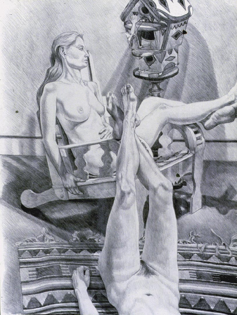 1989 Two Models with Birdhouse Pencil Dimensions Unknown