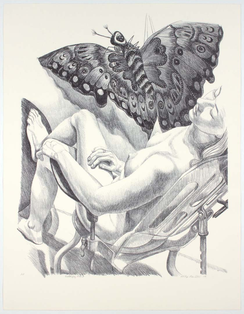"2006 Butterfly Kite III (Duotone) Lithograph on Paper 36.75"" x 28.5"""