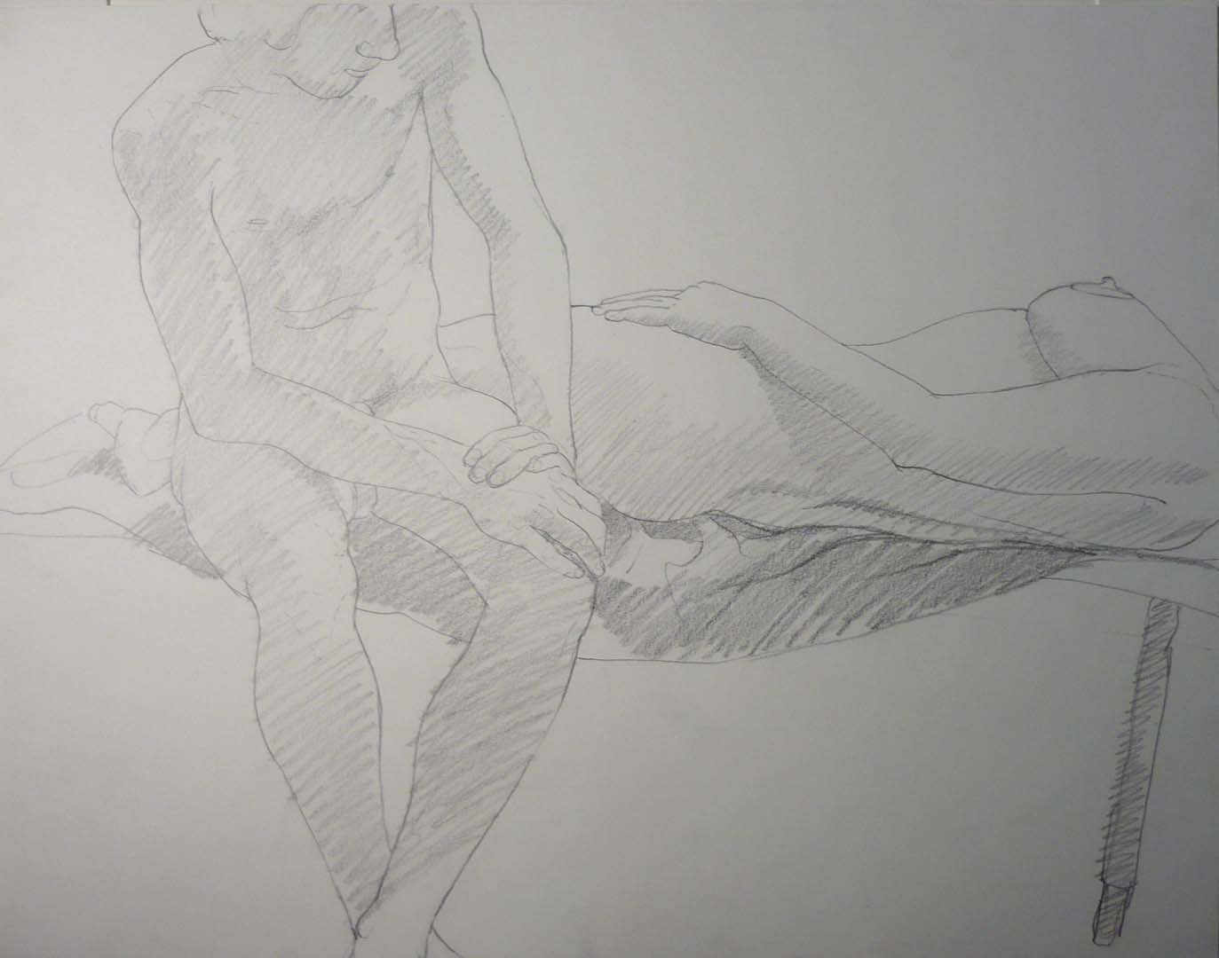 Reclined Female Nude