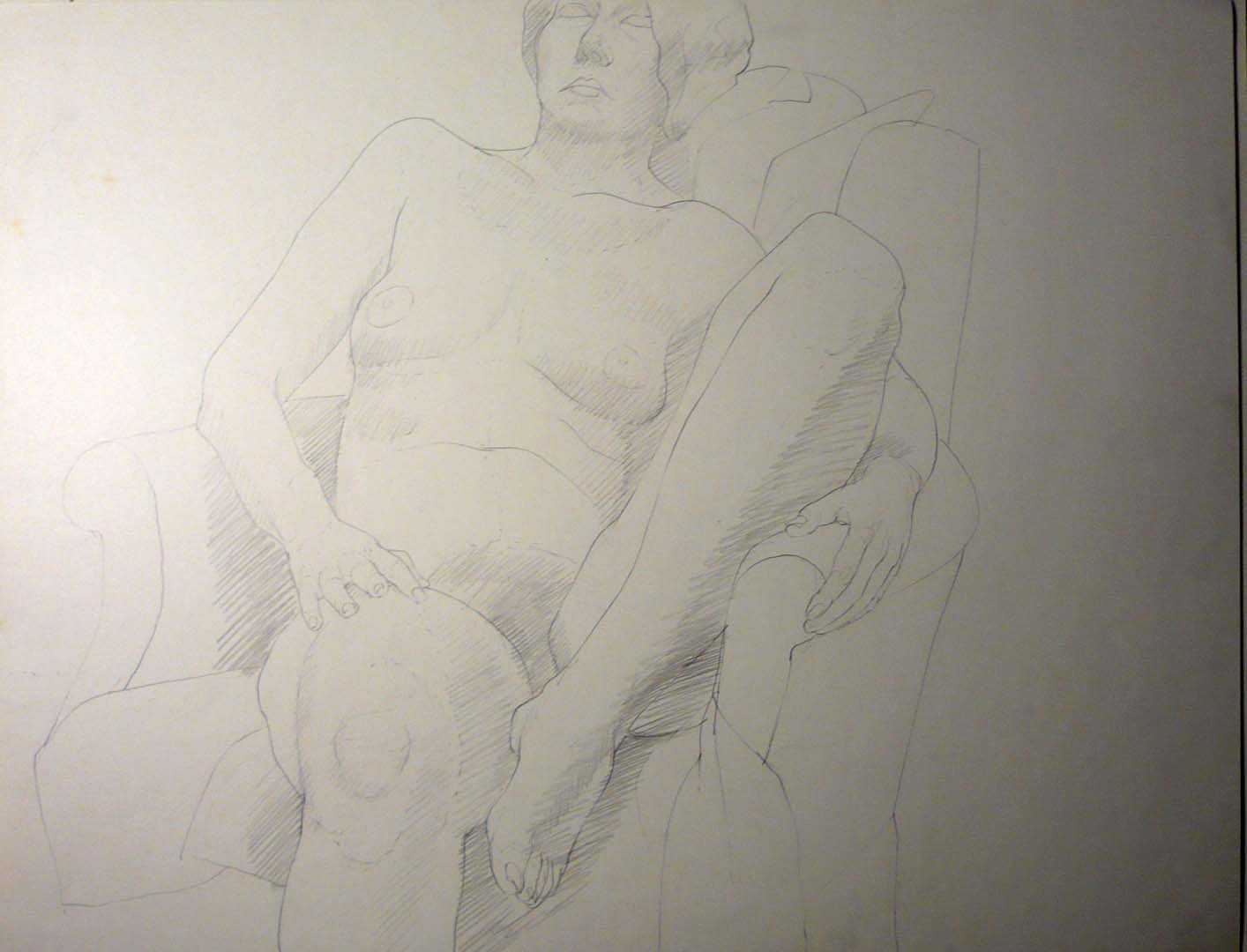 Seated Model