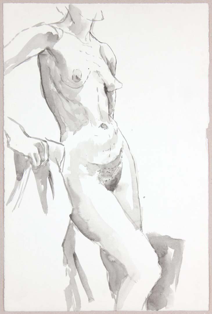 Standing Female Model Wash 20.75 x 13.75