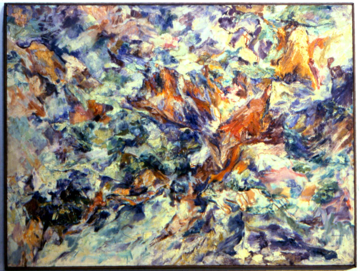 "1953 Ravine Oil on Canvas 36"" x 48"""