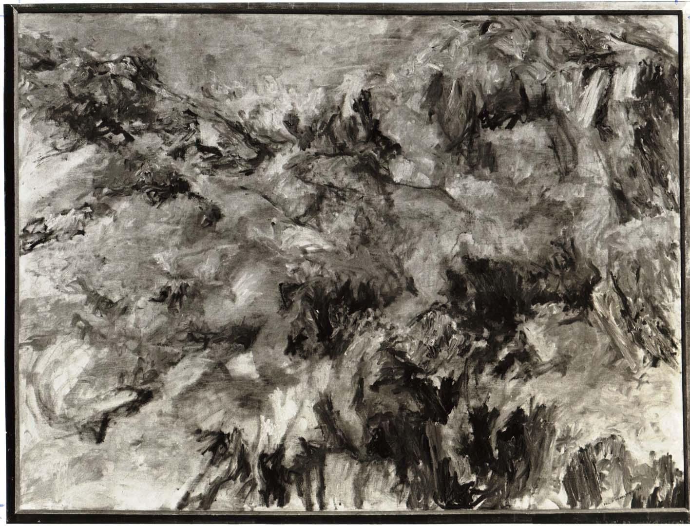 "1954 Misty Mountain Oil on Canvas 37.25"" x 49.5"""