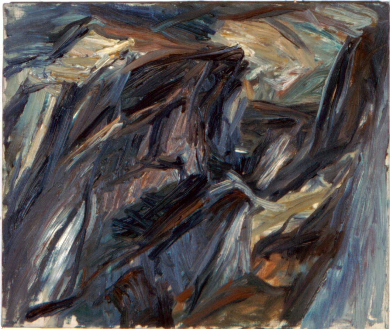 "1955 Landscape Study Oil on Canvas 20"" x 24"""