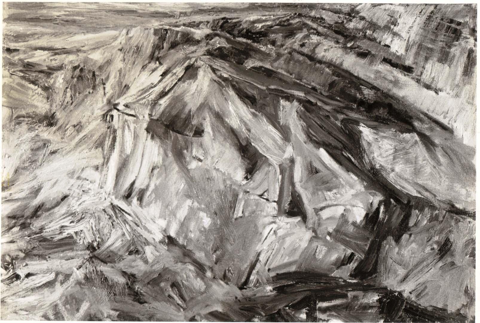 1955 Ridge Oil on Canvas 21 x 30.5