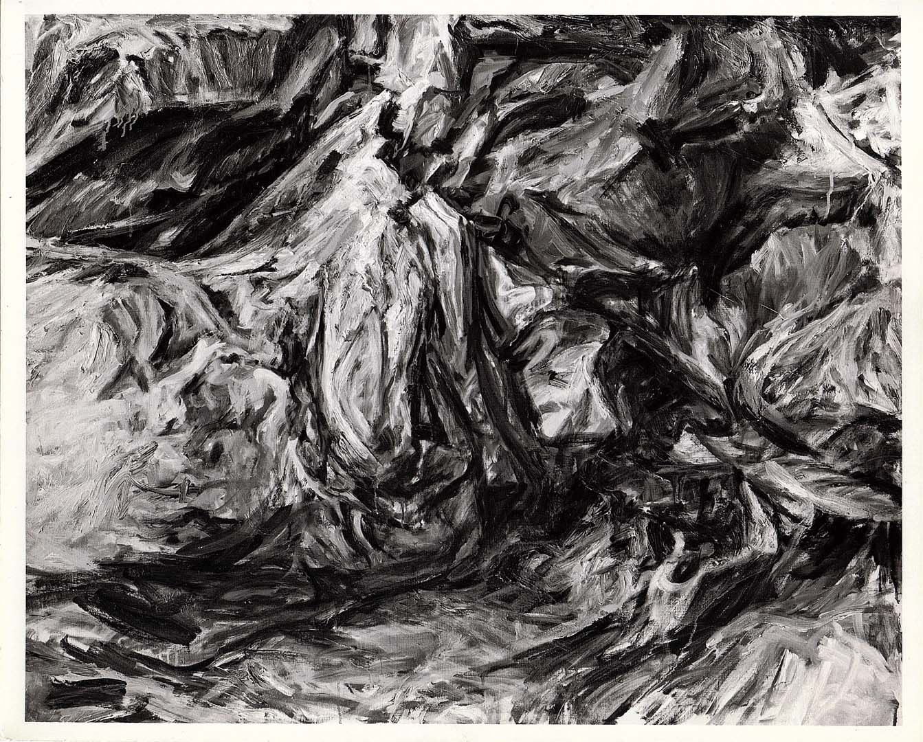 "1956 Cave Forms Oil on Canvas 41"" x 51"""