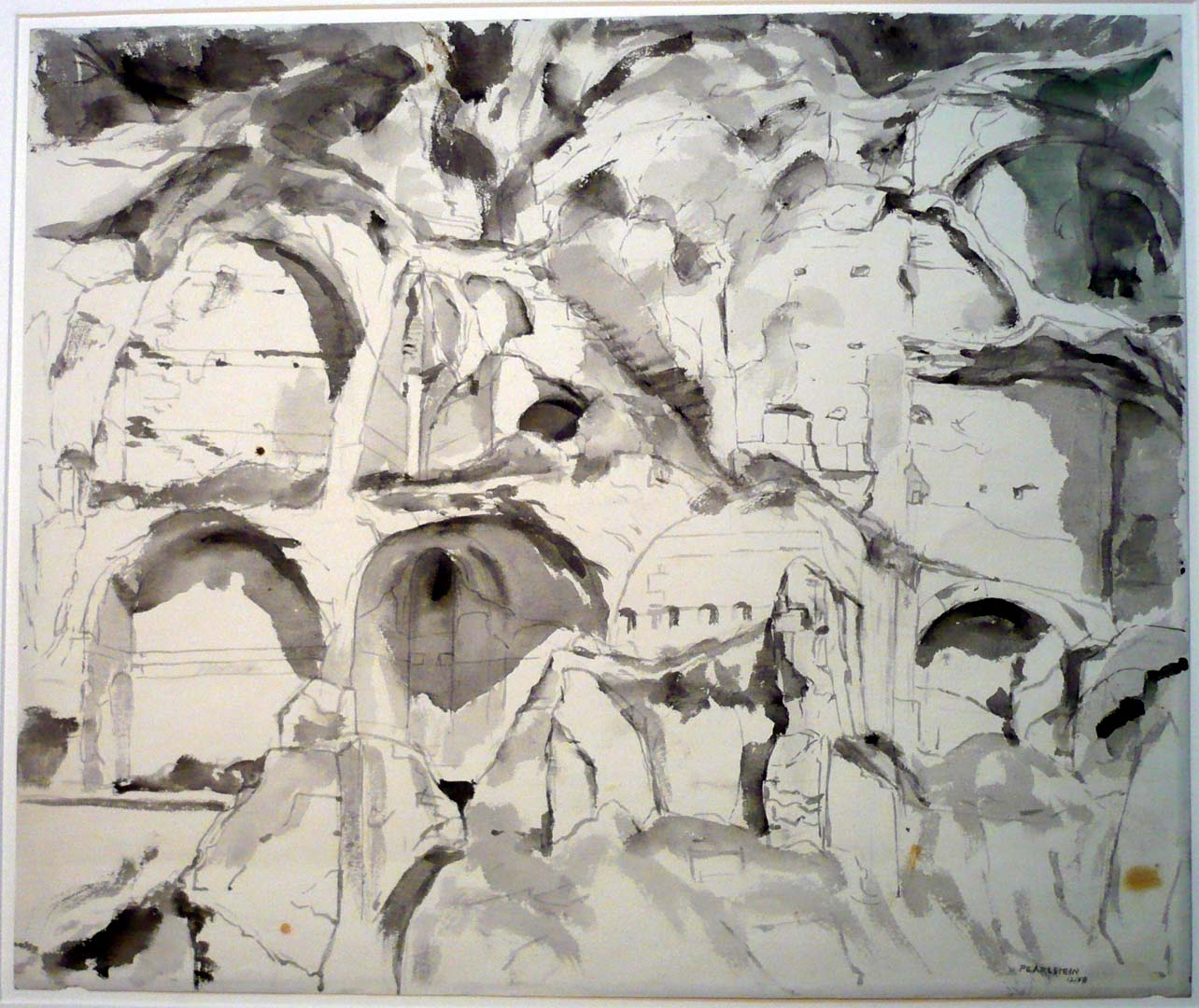 1958 Study for Oil Painting