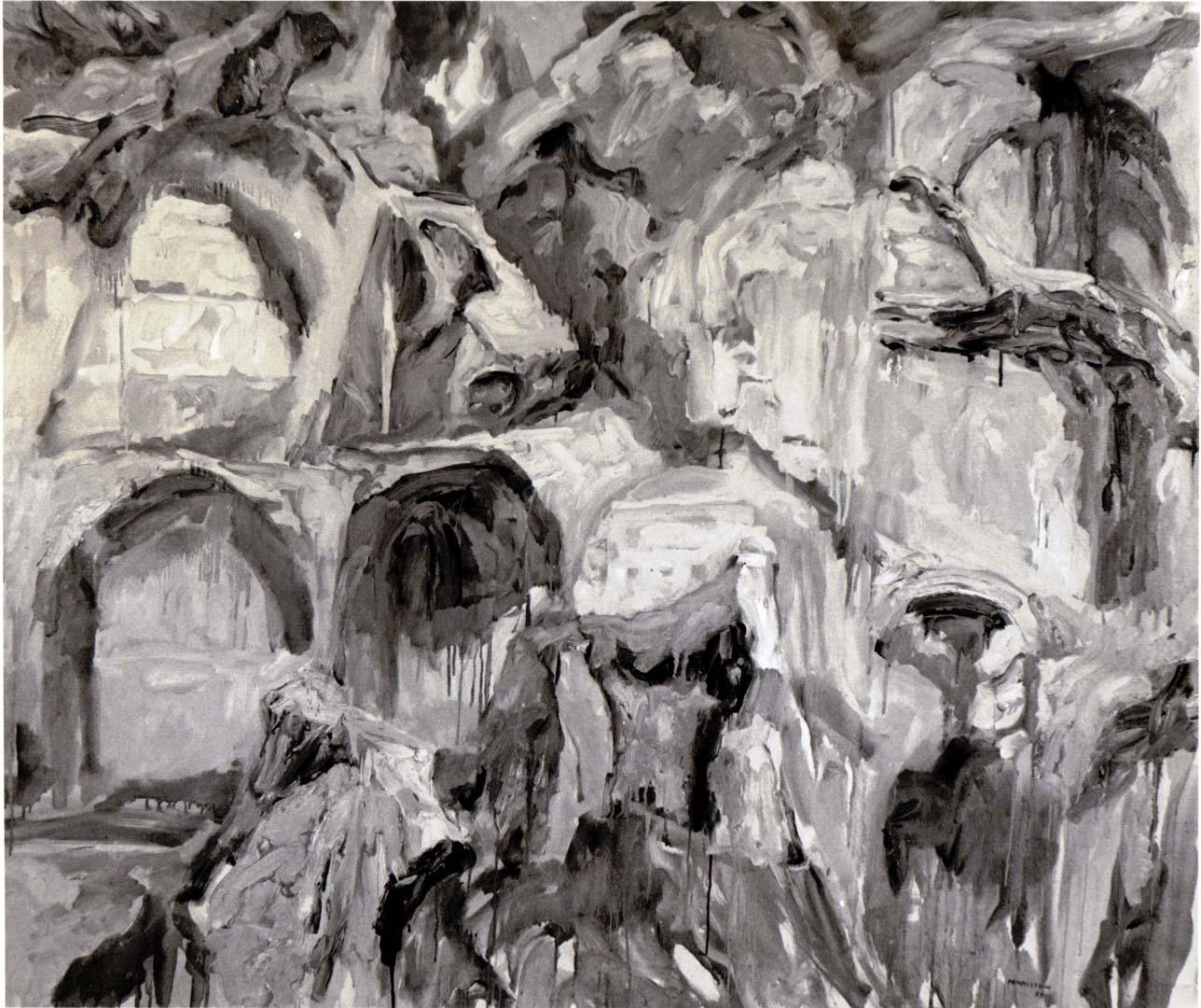 "1959 Palatine #4 Oil on Canvas 49"" x 58.5"""
