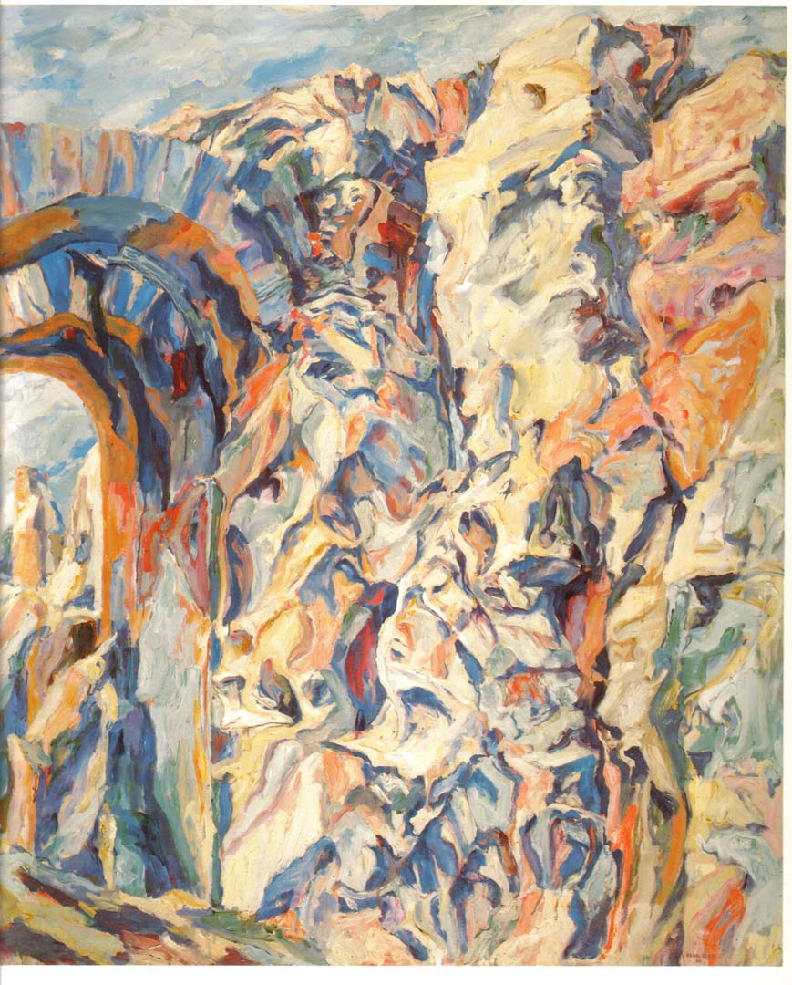 1960 Imperial Palace #7 Oil on Canvas 58 x 48