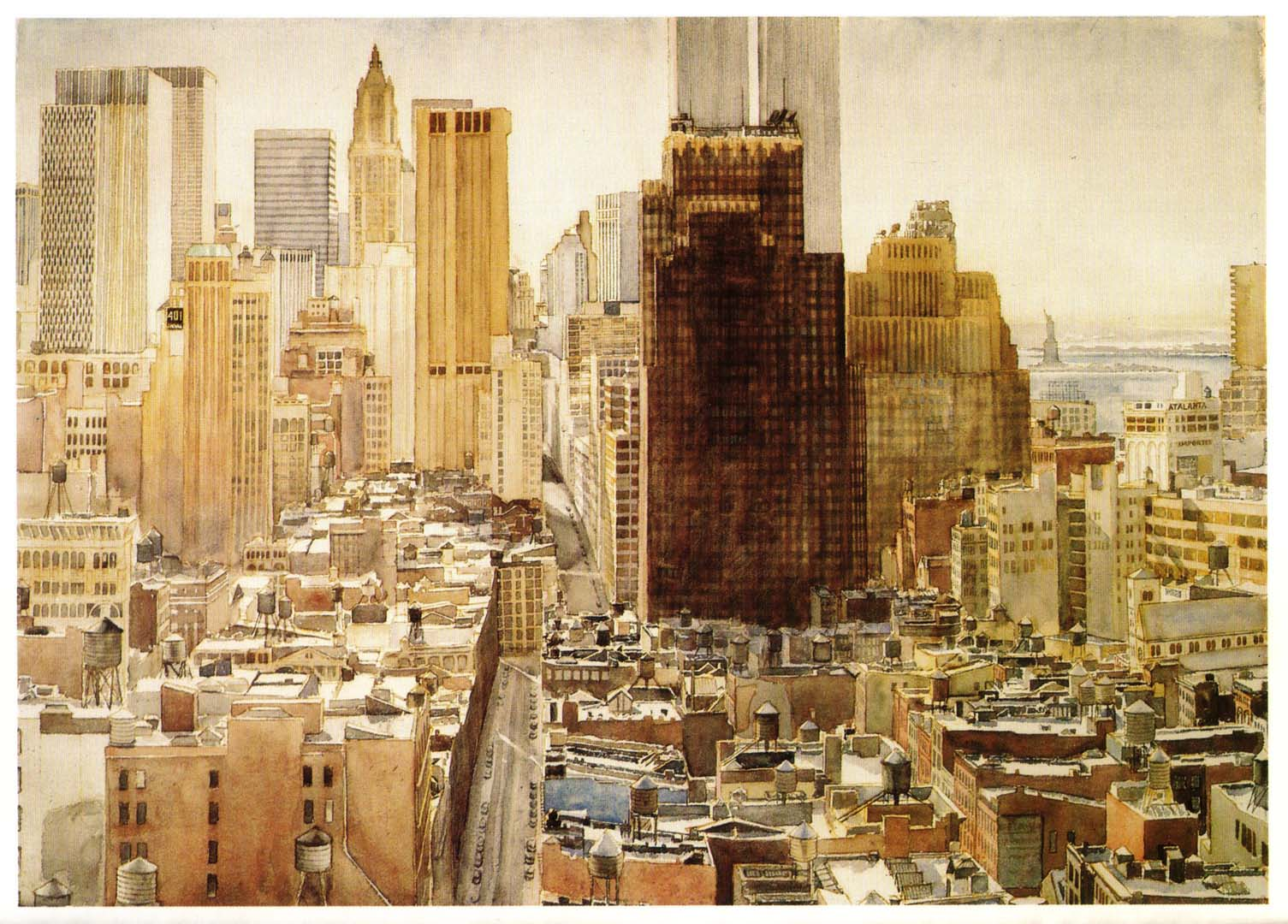 1976 View over SoHo