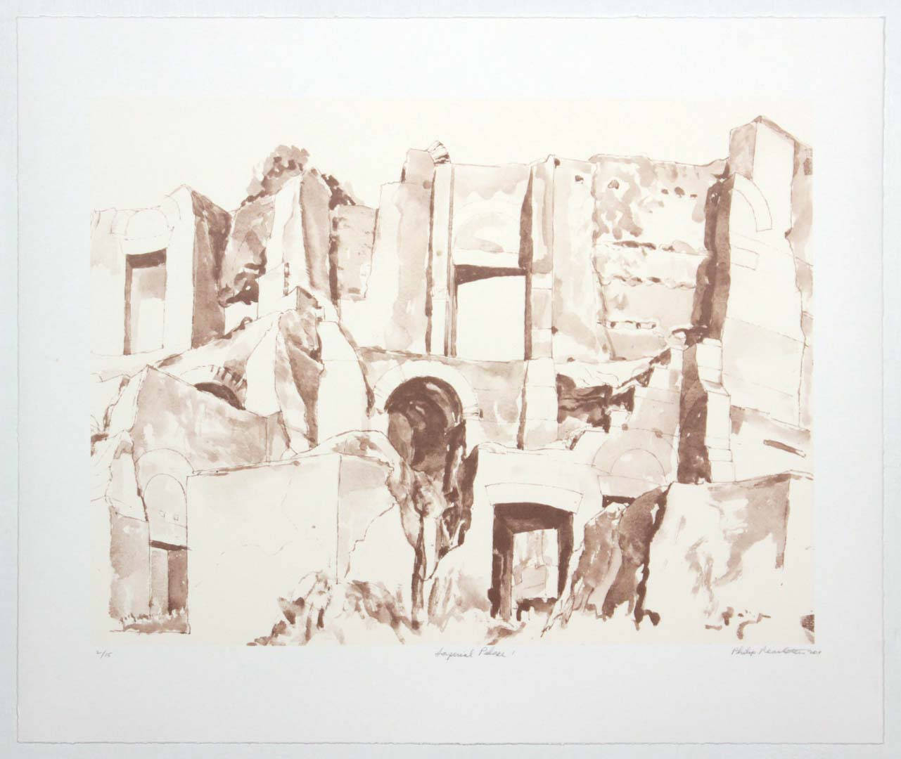 2011 Imperial Palace #1 Lithograph on Paper 20.625 x 24.625