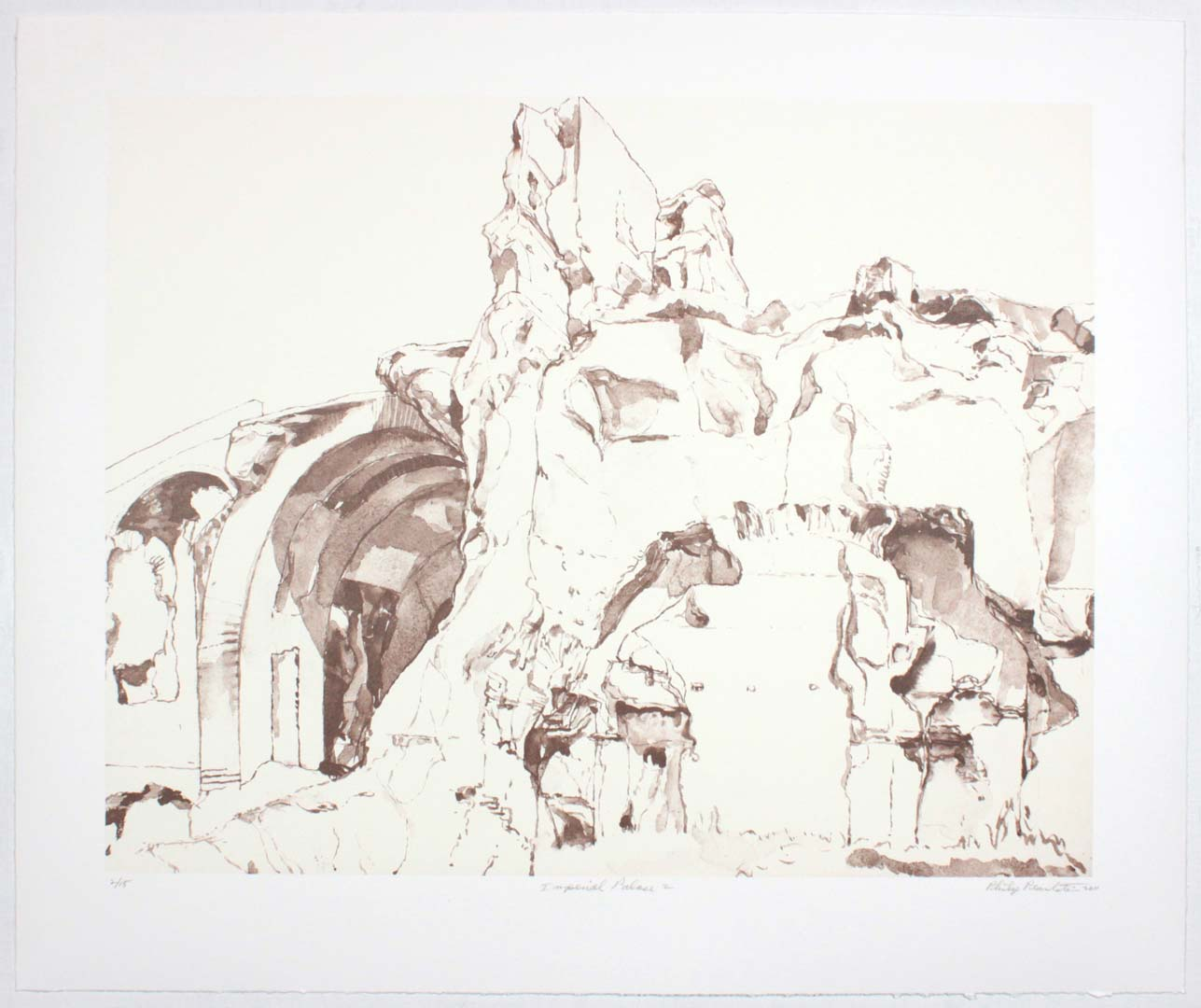 "2011 Imperial Palace #2 Lithograph on Paper 20.625"" x 24.625"""