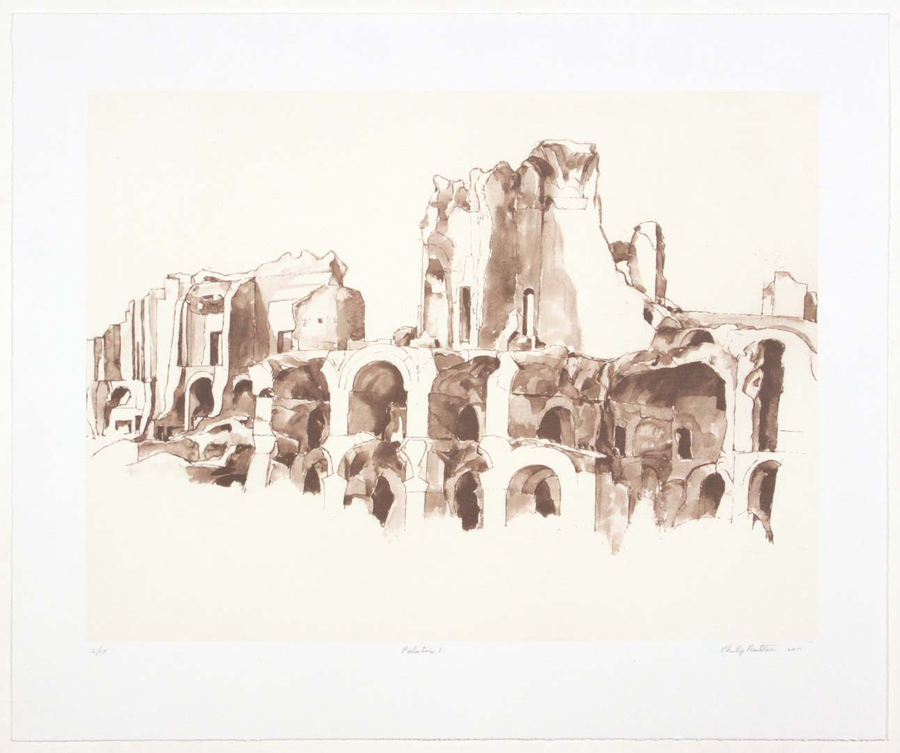 2011 Palatine #1 Lithograph on Paper 20.625 x 24.625