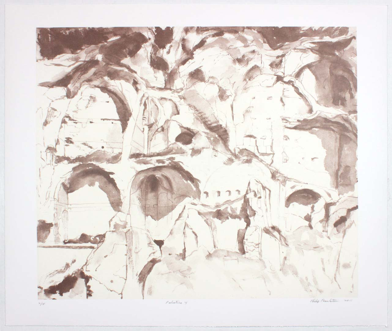 "2011 Palatine #4 Lithograph on Paper 20.625"" x 24.625"""
