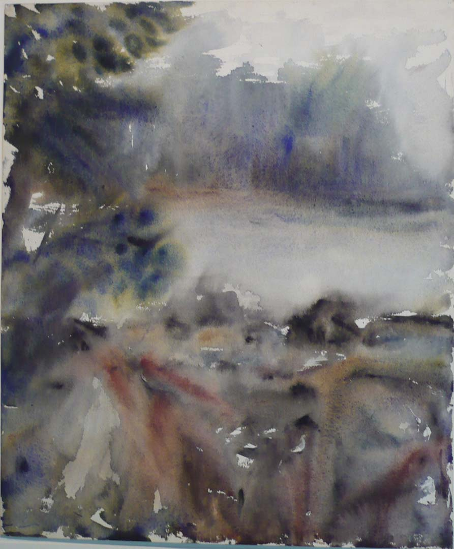 Deer Isle #8 Watercolor on Paper