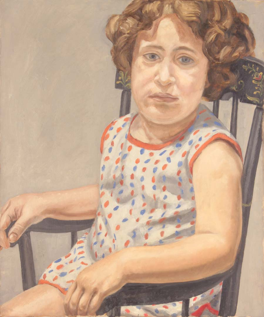 1965 Portrait of Julia Oil on Canvas