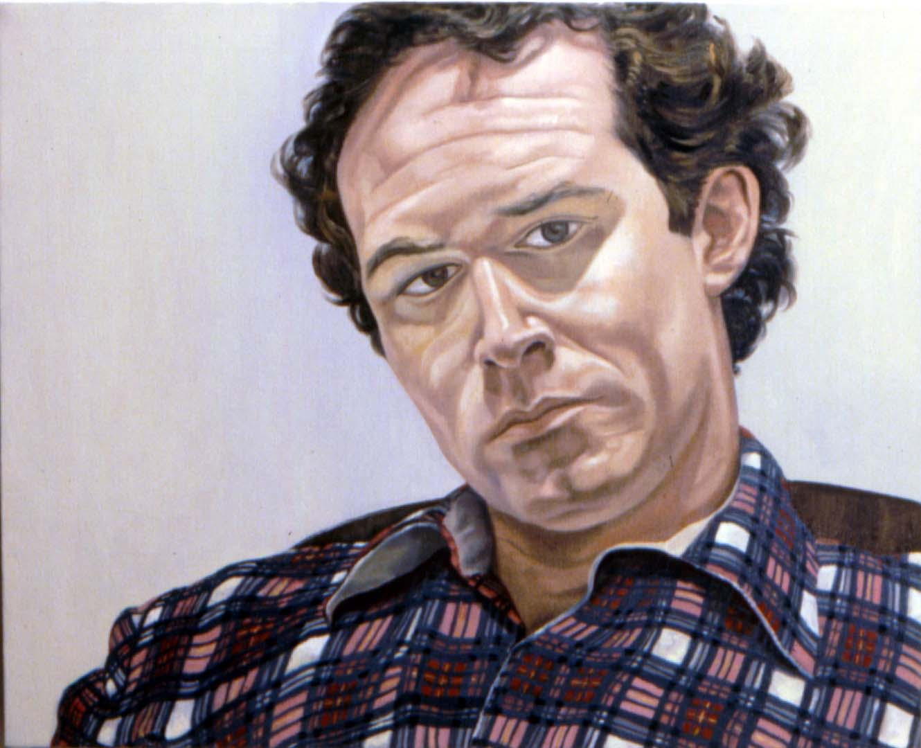 "1979 Portrait of Josh Aronson Oil 24"" x 30"""