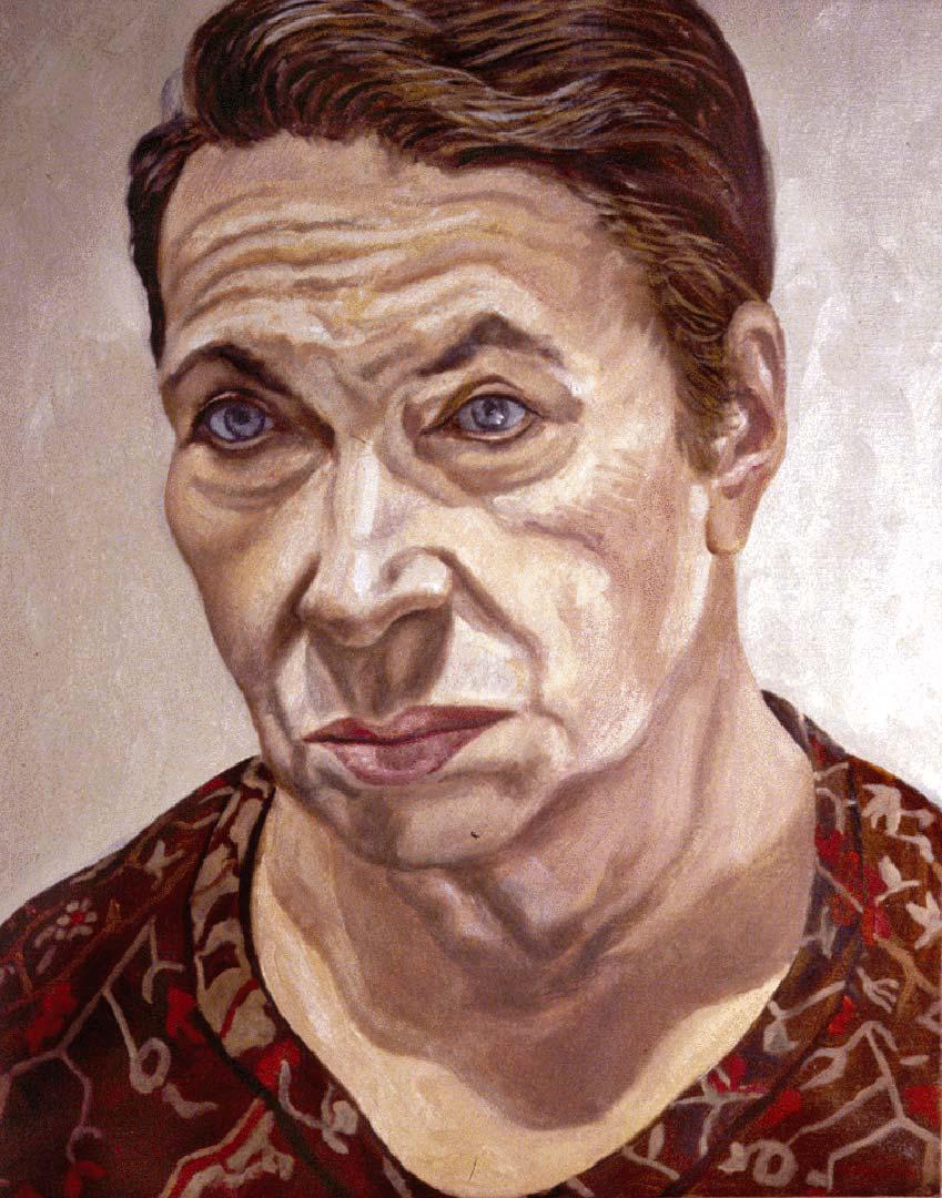 1990 Portrait of Dorothy Herz Rabkin Oil 20 x 16