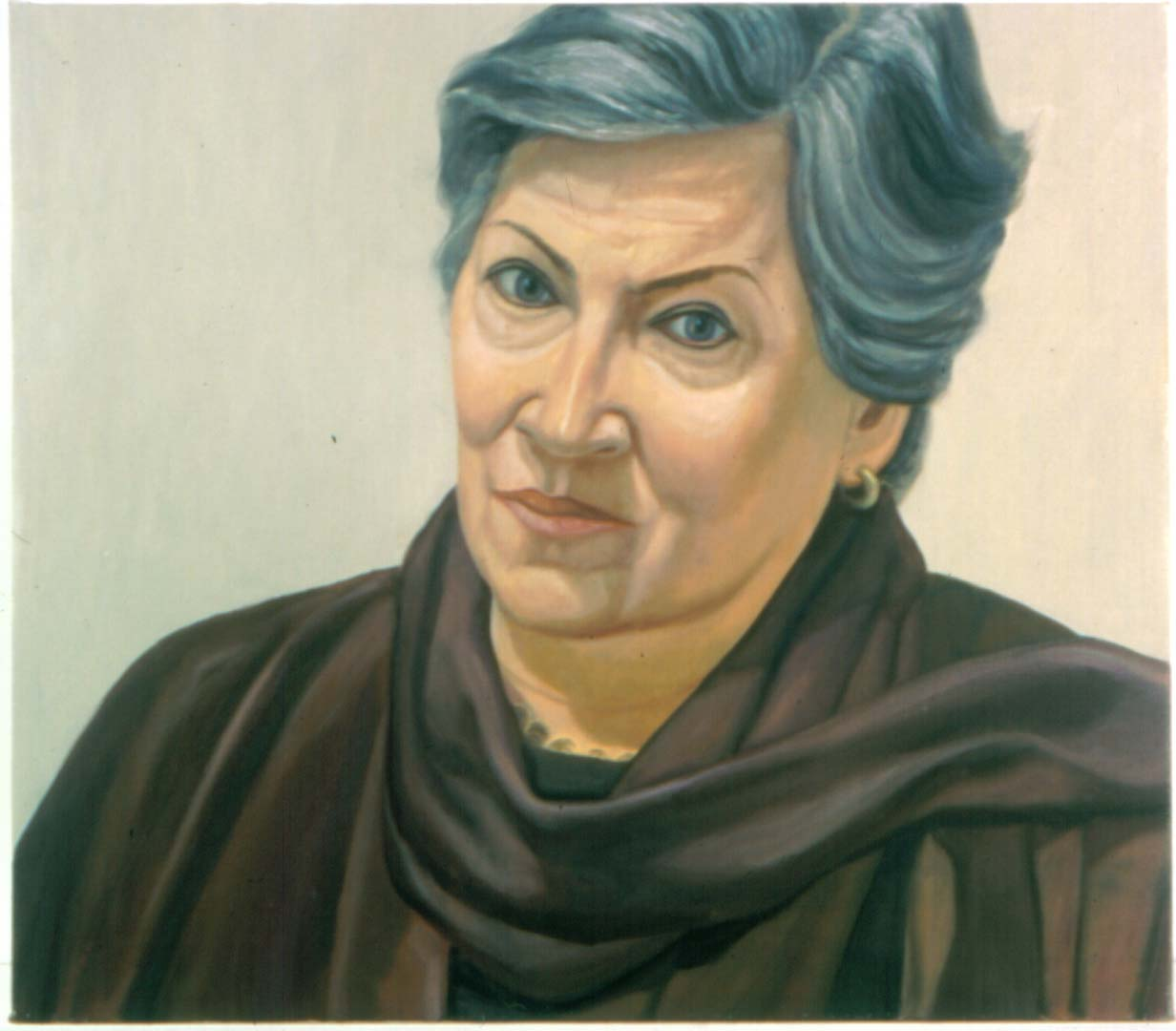 "2001 Portrait of Betsy Oil 26"" x 30"""