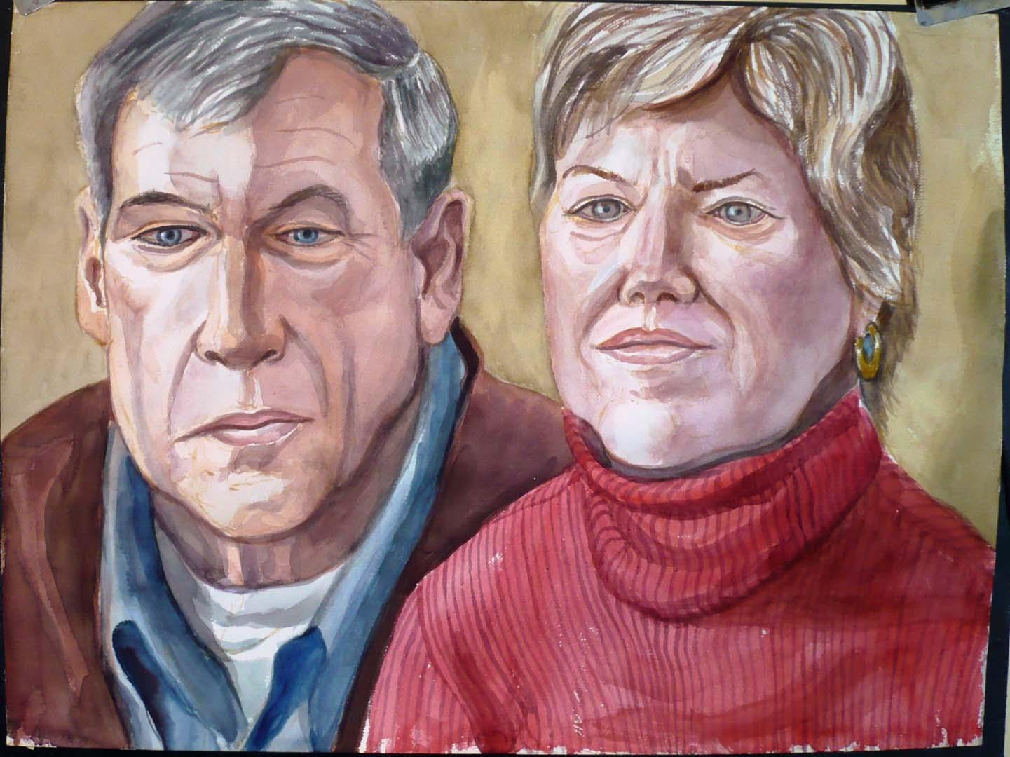 2008 Herb & Karen Carlough Watercolor Dimensions Unknown