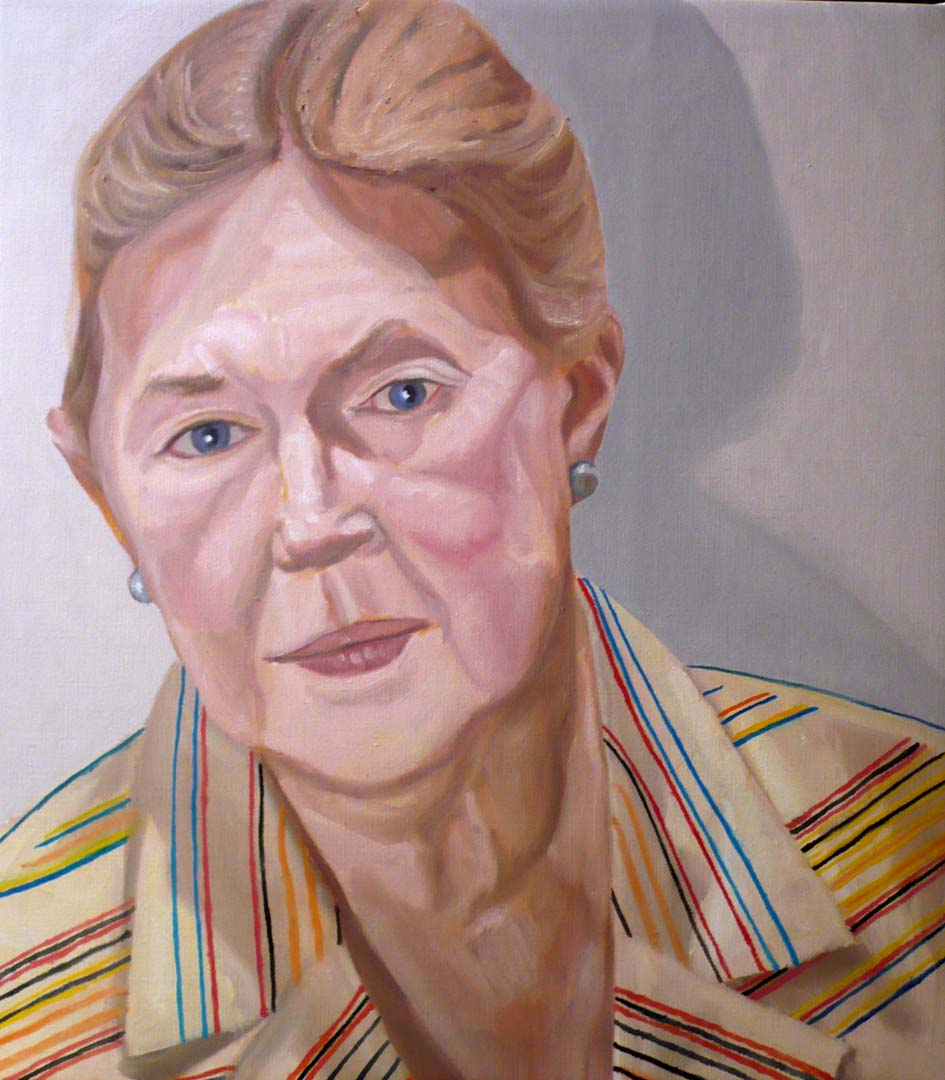 "2008 Lucy Sandler Oil on Canvas 25"" x 22"""