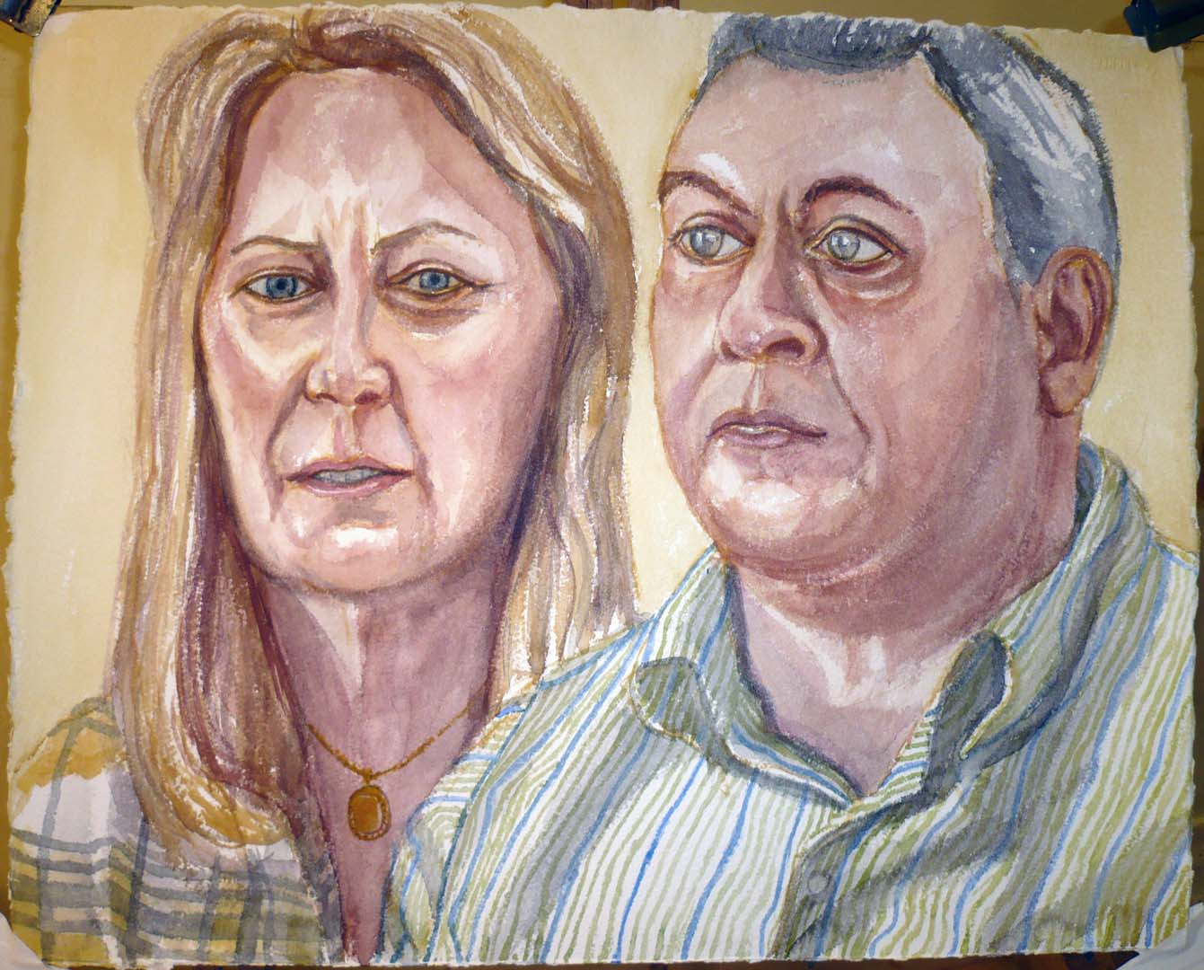 2009 Neil and Jacintha Guerchio Watercolor Dimensions Unknown