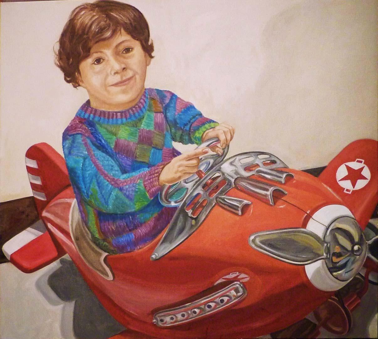 "2010 Adrian Vecchio Oil 36"" x 40"""