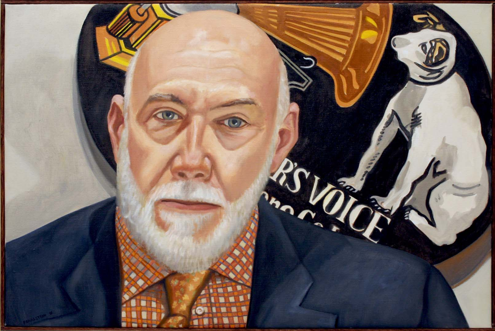 "2010 Portrait of Richard Armstrong Oil on canvas 20"" x 30"""