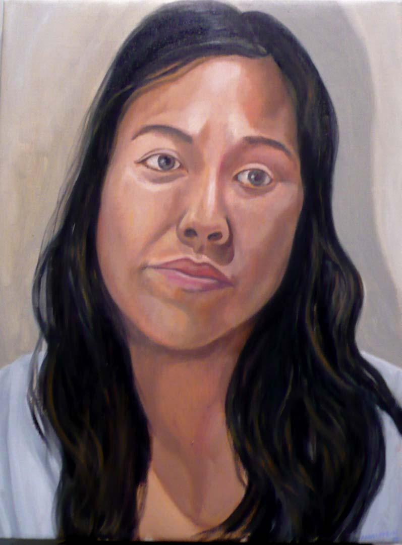 2010 Scarlet Faith Deford Winner Oil on canvas 24 x 18