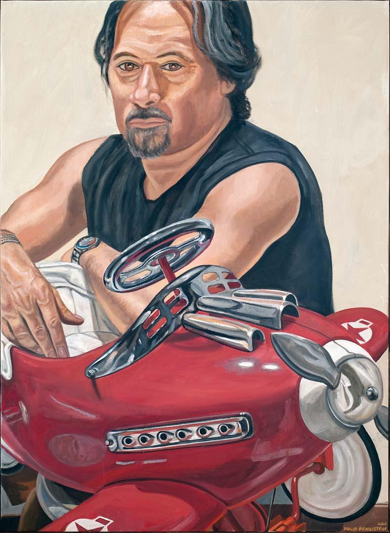 2010 Sante D'Orazio Oil on canvas 36 x 26