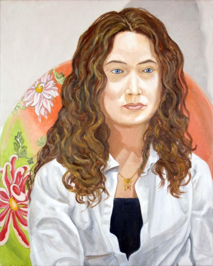 "2011 Sophie Pearlstein Oil 30"" x 24"""