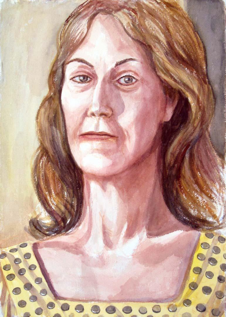 "2012 Donna Beebe Watercolor 20"" x 14.125"""