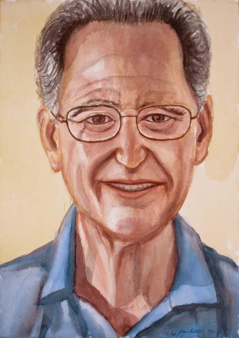 """2012 Michael Tenner Watercolor 16.125"""" x 20.125"""""""