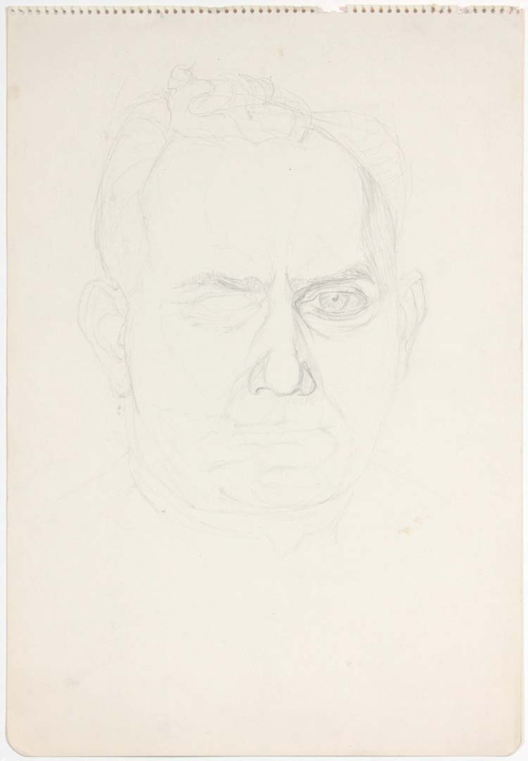 David Pearlstein (Portrait) Pencil 17.875 x 11.875