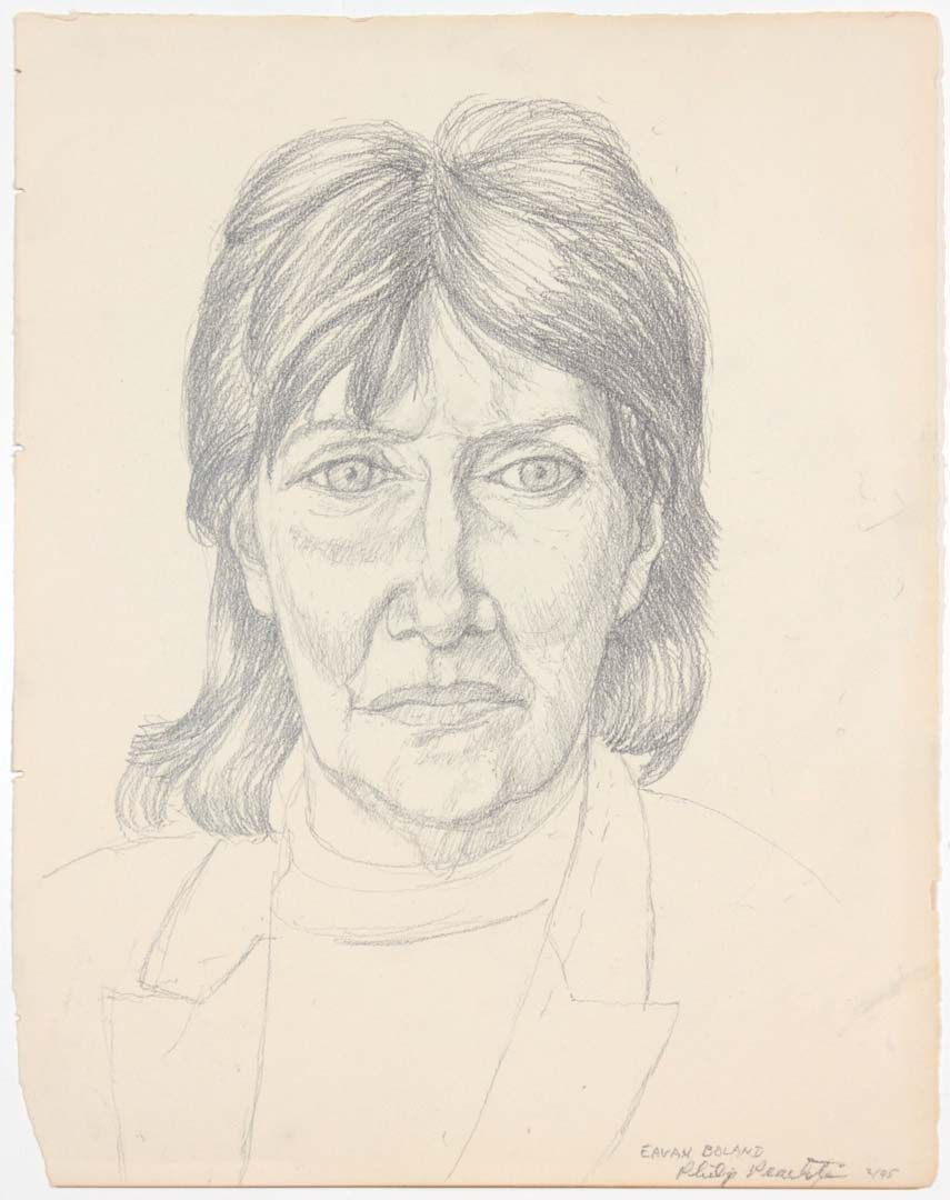 1995 Eavan Boland Pencil 15 x 11.75