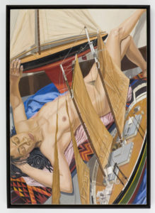 2008 Model With Two Model Boats Oil 60x42