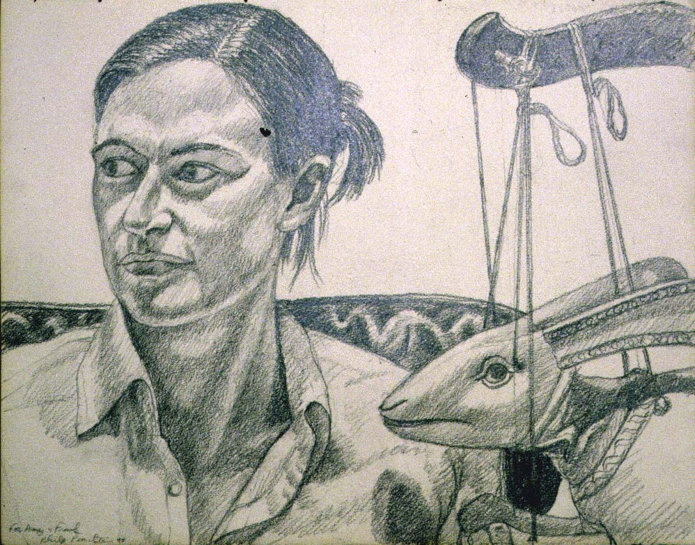 "1997 Portrait of Amy Deldeo Pencil 11.25"" x 15"""