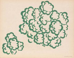 1944 Image 63 (Woodland) Silkscreen 11 x 14