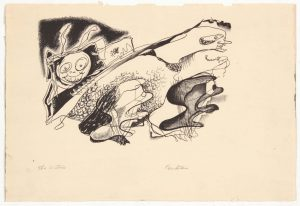 1948 The Critics Lithograph 7.50 x 11