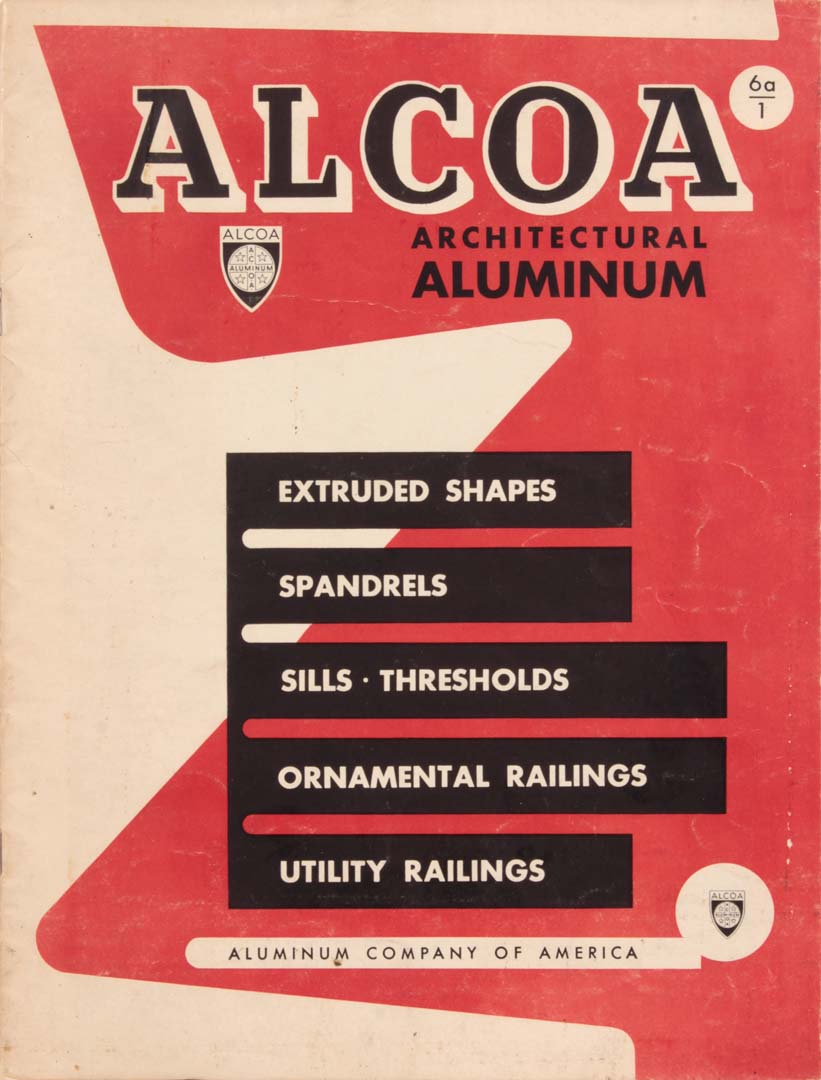 "1949 Alcoa Architectural Aluminum Advertisement 11"" x 8.5"""