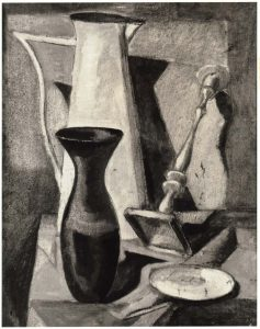 1947 Still Life Oil on board 19.875 x 16.75